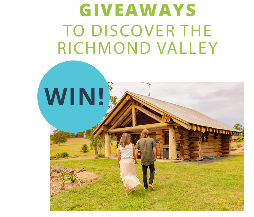 Giveaways to Discover the Richmond Valley. Win!